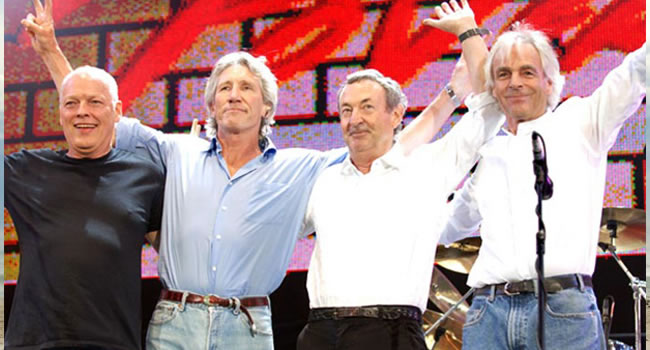 Pink Floyd. Foto: EFE