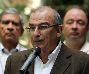 Declaración de Humberto de la Calle, sobre los puntos de acuerdo de paz