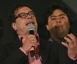 El alcalde de Bogotá Gustavo, Petro denuncia amenazas en su contra