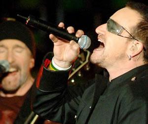 U2 prepara su gira para el 2015