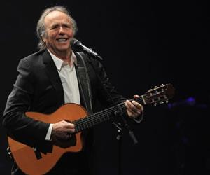 Serrat celebra 50 años en escenarios con cuádruple disco y una gira mundial