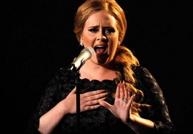 Adele. Foto: EFE