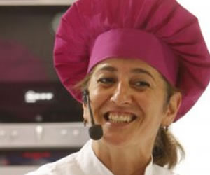 Eva Arguiñano comparte recetas y trucos de cocina con emprendedoras cubanas