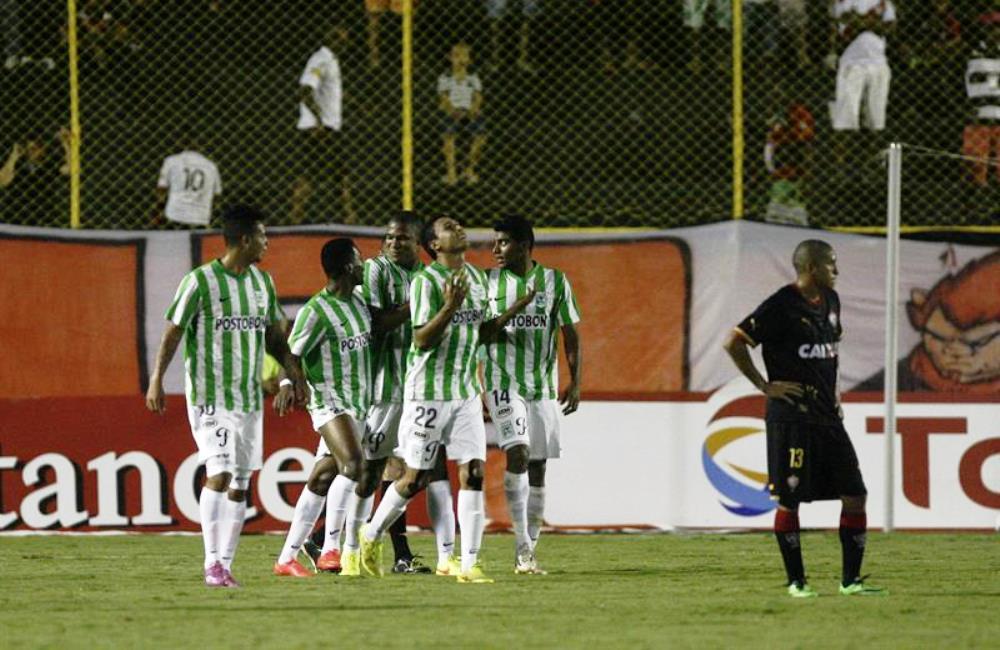 Nacional ahora enfrentará al club César Vallejo de Perú. Foto: EFE