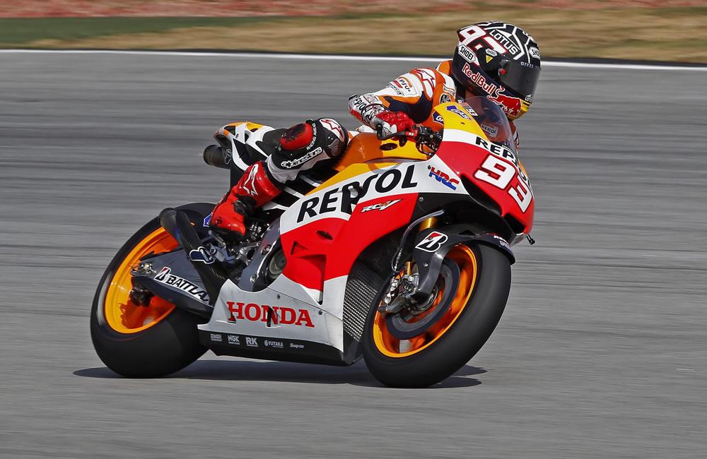 Márquez llega con el título en el bolsillo a un circuito muy de Yamaha. Foto: EFE