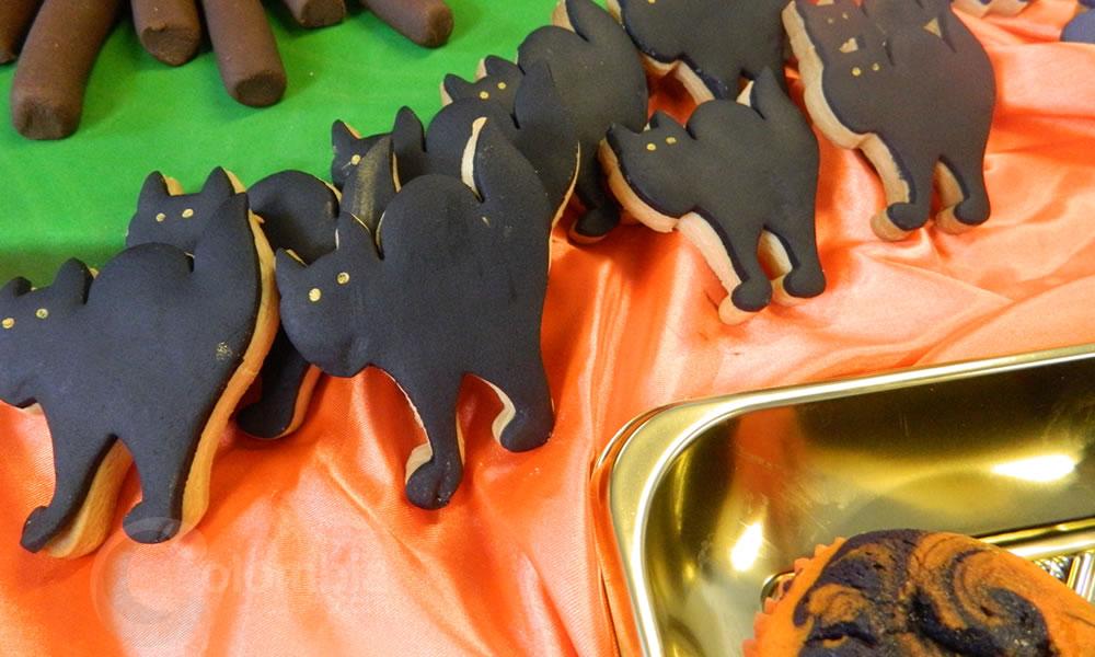 Cupcakes y galletas para disfrutar en Halloween
