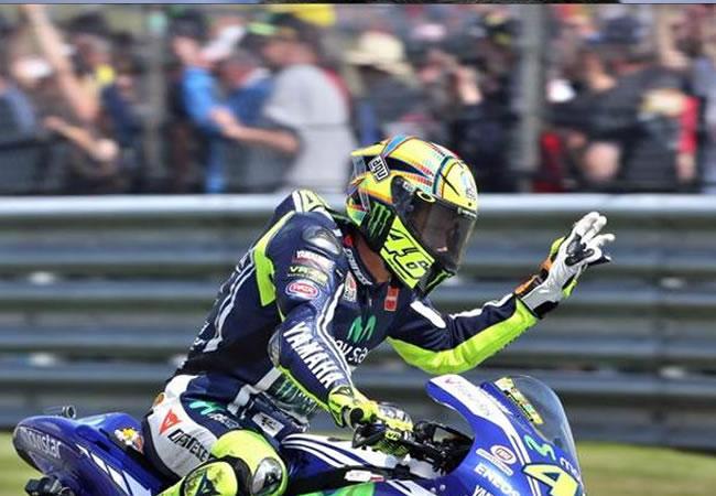 Valentino Rossi. Foto: EFE