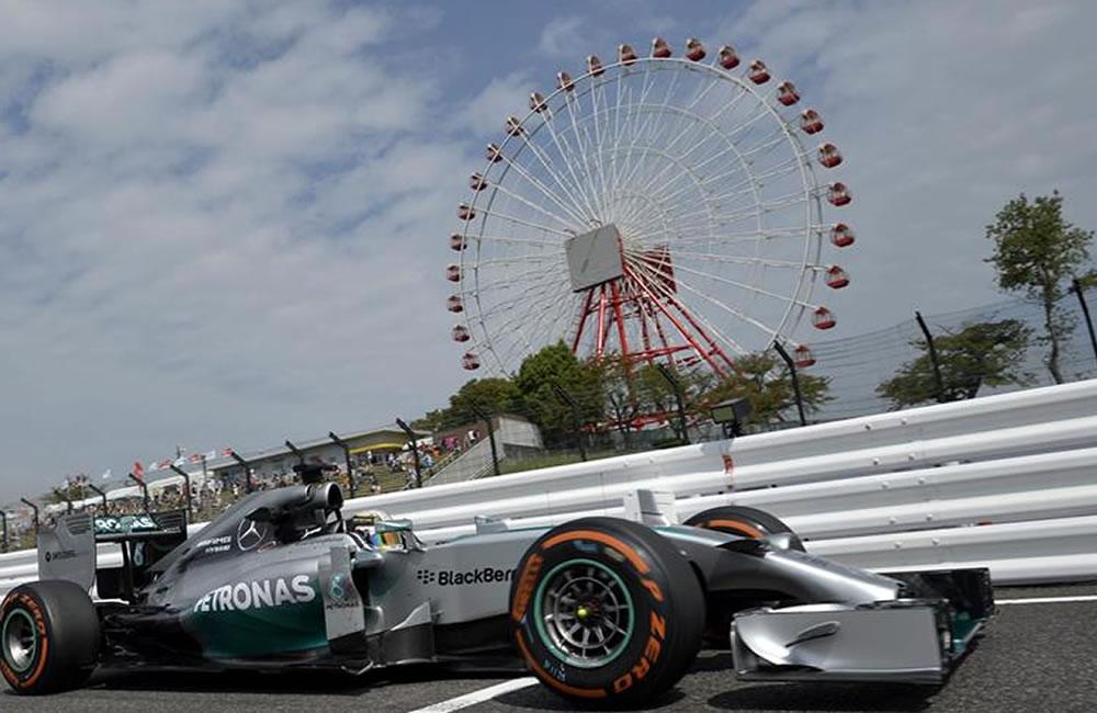 El 'Mundial a tres' de Hamilton y Rosberg arranca en Austin, con 18 coches. Foto: EFE