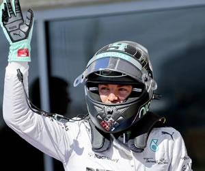 Rosberg anima con su 'pole', Hamilton sale a su lado
