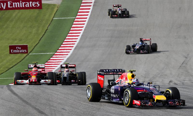 Así fue el Gran Premio de los Estados Unidos. Foto: EFE