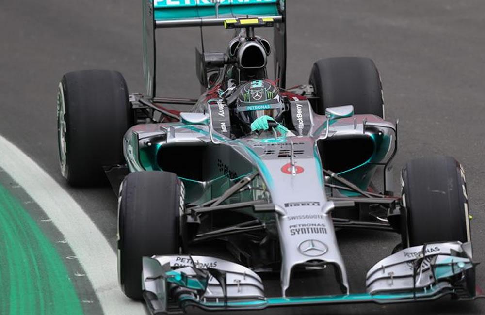 Rosberg lidera otro entrenamiento dominado por Mercedes. Foto: EFE
