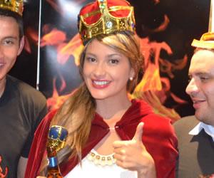 Tras comer 60 alitas picantes, Colombia tiene Reina del Picante