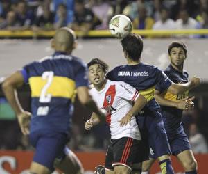 Las mejores jugadas del superclásico en la Copa Sudamericana