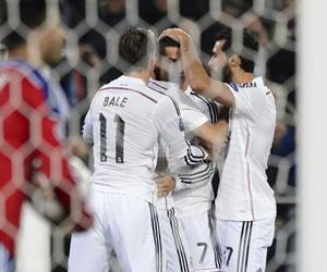 Real Madrid se asegura el primer puesto del grupo B