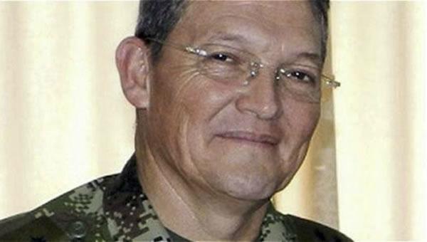 General habría sido entregado a CICR por negociador de paz de FARC. Foto: EFE