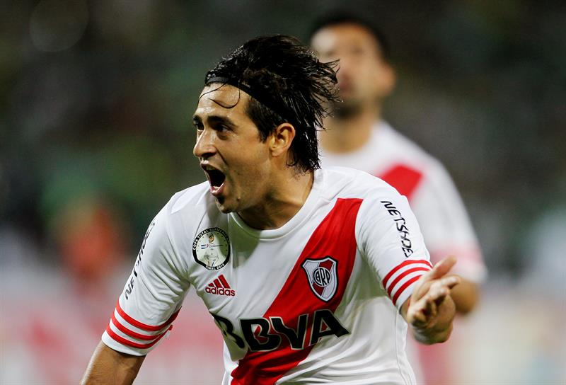 Nacional, con gol de Berrío (65'), y River Plate, con tanto de Pisculichi (65') igualaron 1-1. Foto: EFE