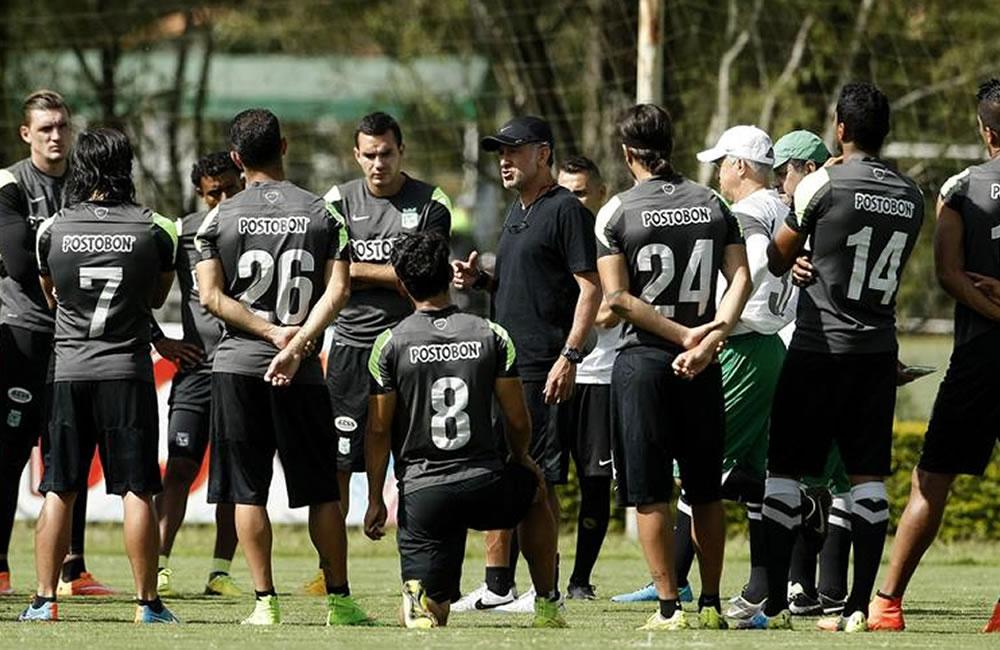El director técnico de Atlético Nacional, Juan Carlos Osorio. Foto: EFE