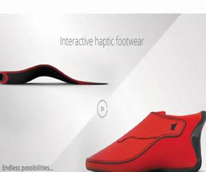 """zapatos indios """"inteligentes"""" con GPS"""
