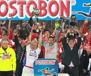 Santa Fe empata con Medellín y se consagra campeón de la liga colombiana