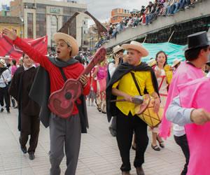 En el Carnaval la familia Castañeda engalanó las calles de Pasto