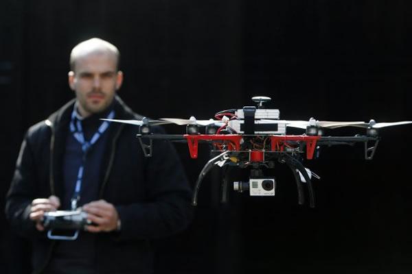 Autorretratos con drones, son la novedad de CES