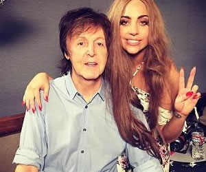 Paul McCartney hará colaboración musical a Lady Gaga