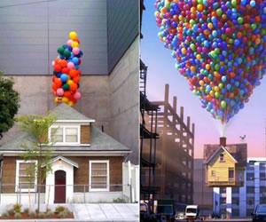 La casa que inspiró la película de animación 'Up', camino de ser subastada