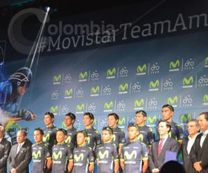 Vuelta a Colombia y Clásico RCN, grandes objetivos del Movistar Team América
