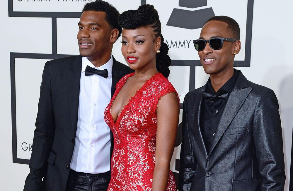 Los artistas de la noche de los Grammy en la alfombra roja