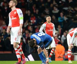 Mónaco noquea al Arsenal de David Ospinay lo deja al borde de la eliminación