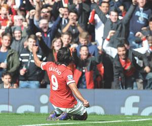 Falcao es el delantero con mejor promedio de gol en campeonatos de la UEFA