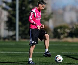 James Rodríguez regresó a los entrenamientos
