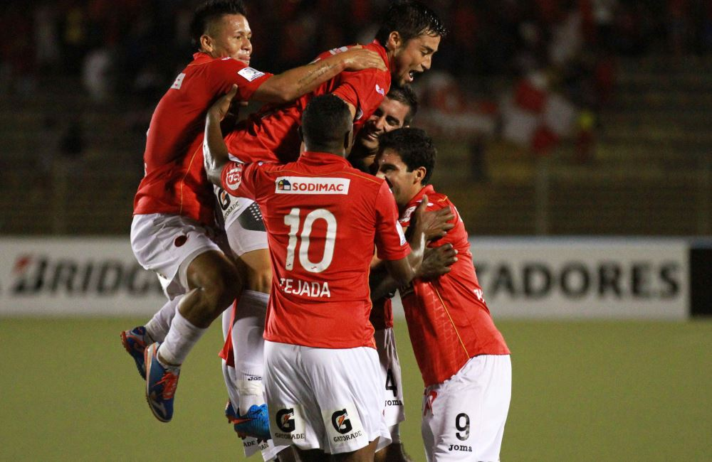 Gol de César Valoyes en la Copa Libertadores