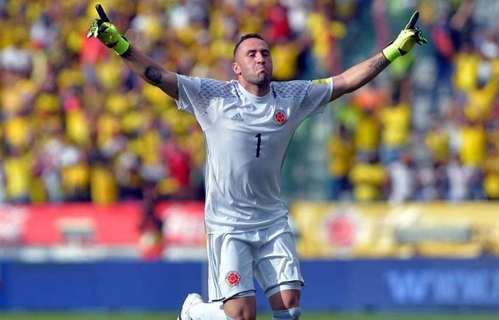 David Ospina. Foto: AFP