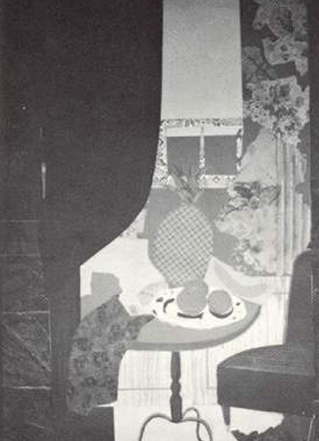 Interior con piña. Luis Fernando Escobar