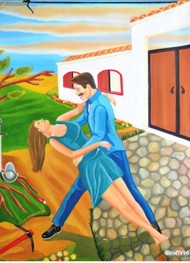 El sudor del sol, las lagrimas de la tierra .John Quintero Villar