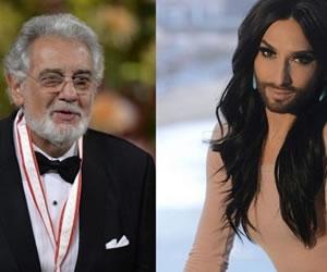 Plácido Domingo y Conchita Wurst cantarán juntos