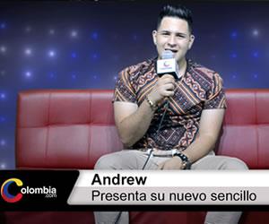 """Andrew presenta su nuevo sencillo """"Recuerdo"""""""