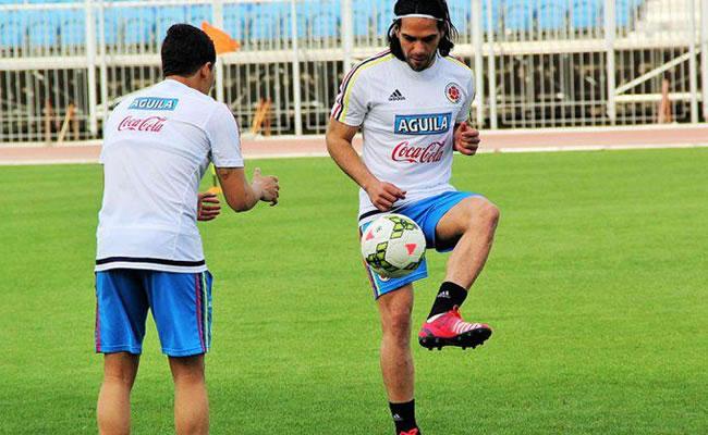 El jugador colombiano Falcao García. Foto: Twitter