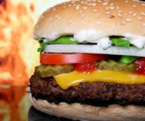 Fragancia con olor a hamburguesa a la parrilla ¿la compraría?