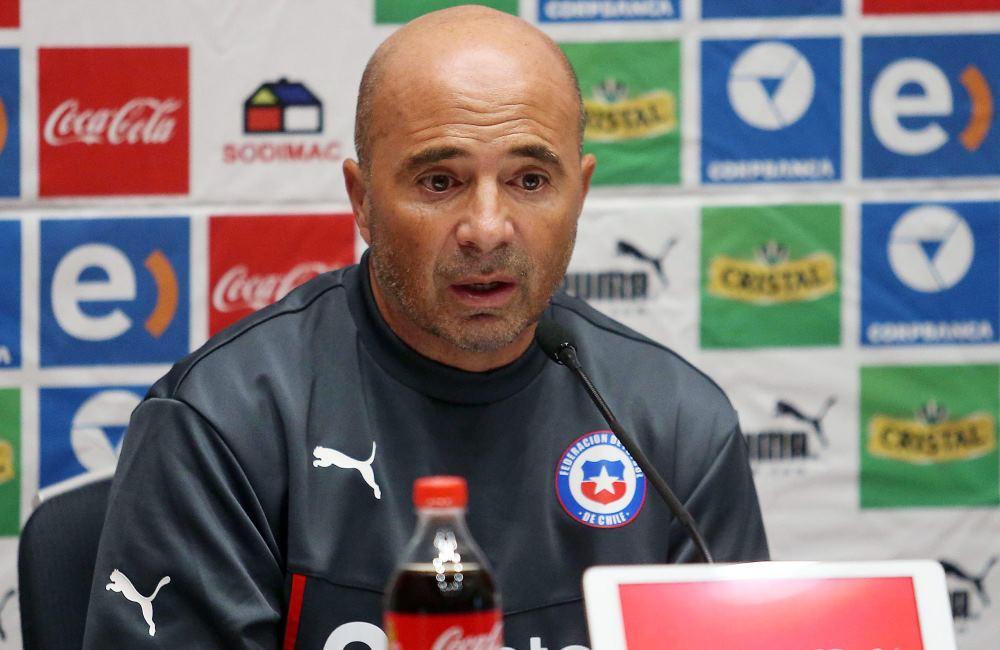 El argentino Jorge Sampaoli, DT de Chile, se alista para la Copa América. Foto: EFE