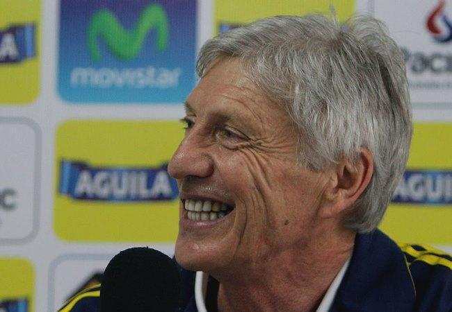 José Pékerman dijo que probará jugadores ante Kuwait. Foto: EFE