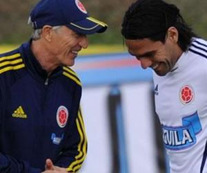 Pekerman asegura que Falcao está intacto y se le ve fuerte con Colombia