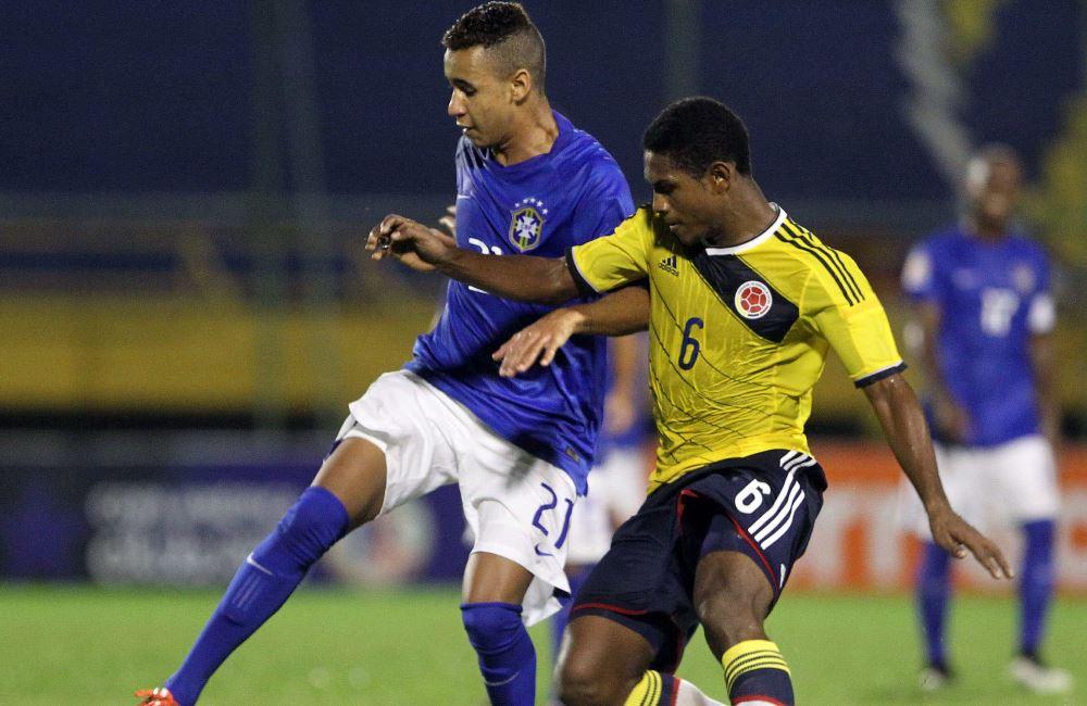 Colombia se despidió del torneo derrotando a Brasil. Foto: EFE