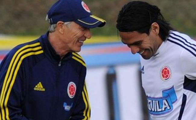 Pekerman asegura que Falcao está intacto y se le ve fuerte con Colombia. Foto: EFE