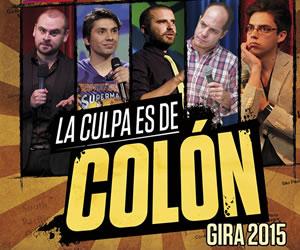 'La culpa es de Colón', el Stand Up Comedy con los mejore de Latinoamérica