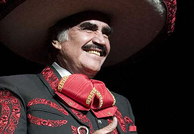 Vicente Férnandez. EFE