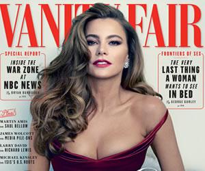 Sofía Vergara, primera colombiana en portada de la revista Vanity Fair