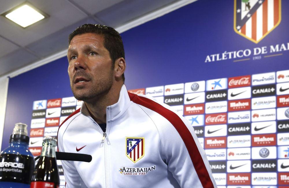Diego Simeone, como DT del Atlético, ha vencido repetidamente al Real Madrid. Foto: EFE