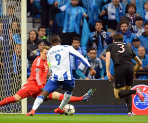 Vea el gol de Jackson con el Porto frente al Bayern